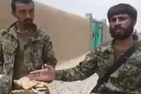 After India, Afghan soldier also complains over insufficient food