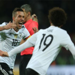 Football: Podolski hits Germany winner against England to sign off in style