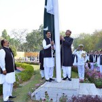 Flag hoisting ceremony arranged at Pakistan High Commission in India