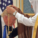 Trump slammed for 'bowing' to Saudi King