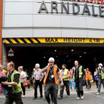 "Manchester's Arndale shopping center evacuated, witnesses heard ""big bang"""